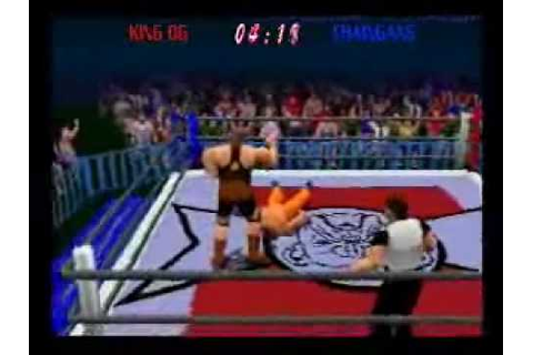 Power Move Pro Wrestling Gameplay Video - YouTube