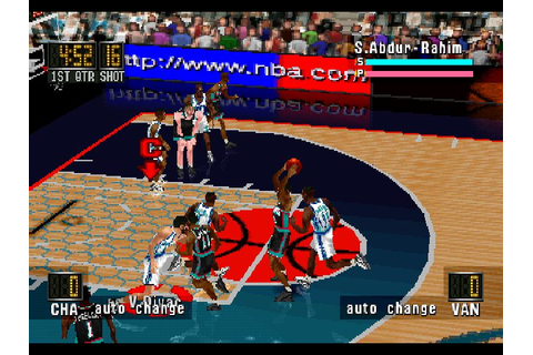 NBA In The Zone '98 (1997) by Konami PS game