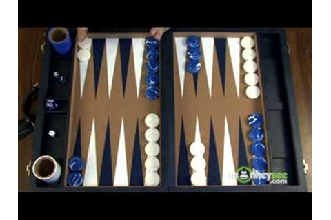 Backgammon Rules - Object of the Game - YouTube
