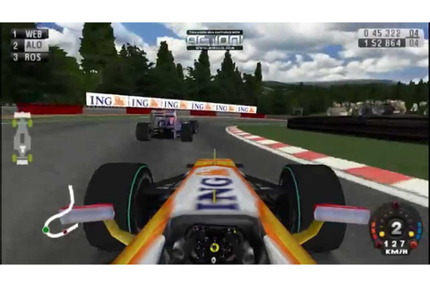 F1 2009 PSP F.ALONSO.#SPA - YouTube