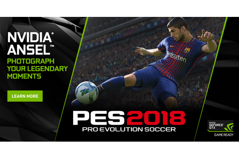 Pro Evolution Soccer 2018: Capture The Beautiful Game From ...