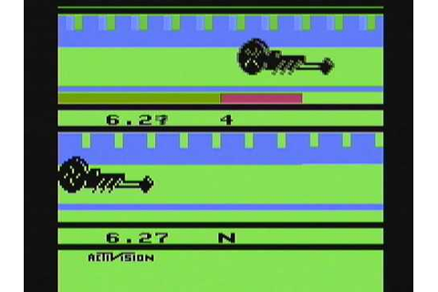 Atari 2600 Dragster Game Cartridge by Activision, An ...