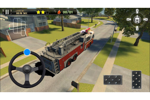 Fire Truck Simulator 3D Parking Games 2017 - Android Apps ...