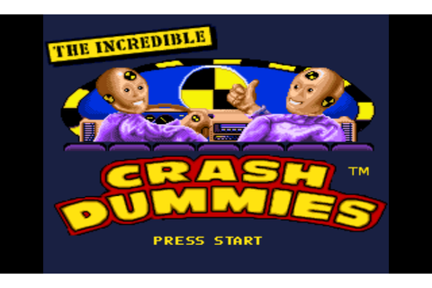 Incredible Crash Dummies, The (USA) ROM