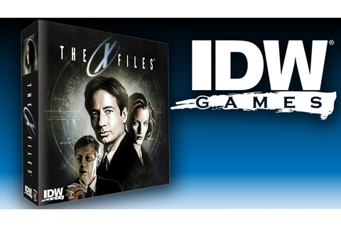X-Files devient un board game • SmallThings