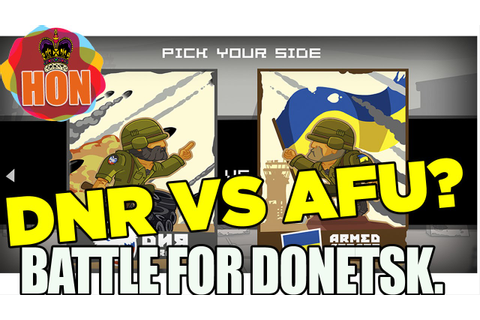 Battle for Donetsk Game DNR Army VS Army of Ukraine - YouTube