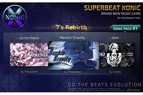 Superbeat: Xonic Brings More Head Candy to PS Vita Today ...