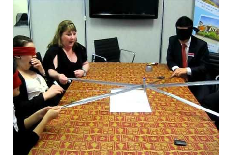 Robot Writer -- Duct Tape Teambuilding Game - YouTube ...