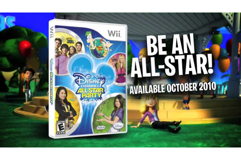 Disney Channel All Star Party - Wii Trailer - YouTube