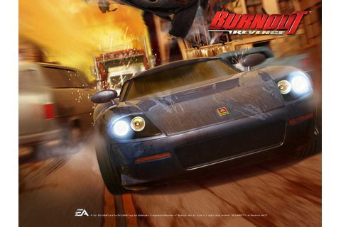 PS VITA GAMES: Burnout Revenge Video Game Wallpaper