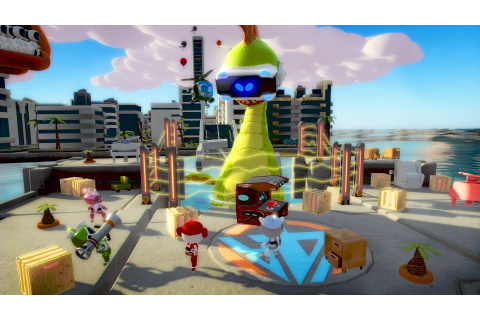 Sony's New VR Party Game, 'Playroom VR', Pits 4 Players on ...