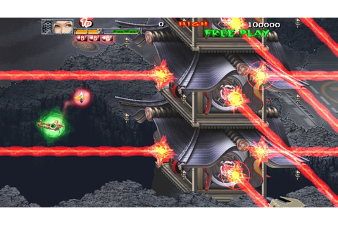 Cave's New Arcade Shooter Akai Katana Coming to the US ...