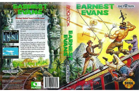 Earnest Evans | 80'S Top Games
