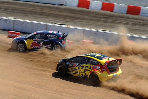 X Games LA Global RallyCross race breaks records, cars [w ...