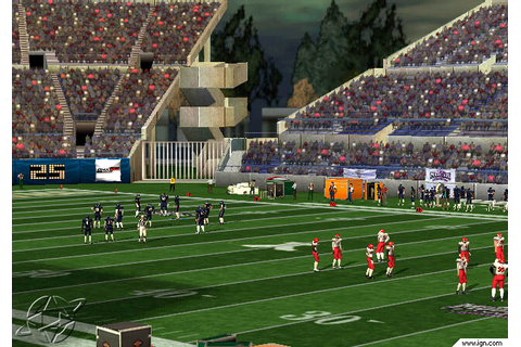 NCAA College Football 2K3 Screenshots, Pictures ...