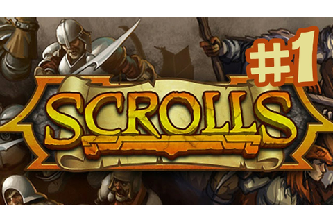 Scrolls Gameplay Walkthrough Part 1 - First Look (By ...