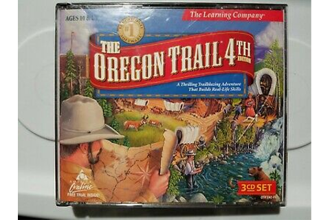 THE OREGON TRAIL 4TH EDITION 3 DISC PC GAME! [1999 ...