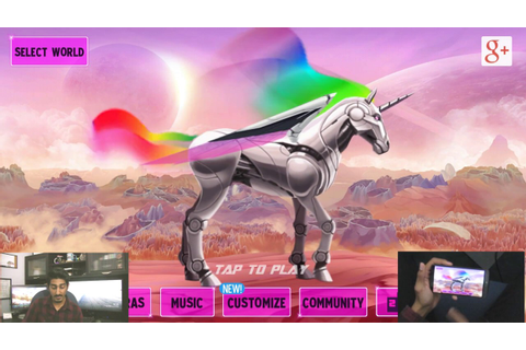 Robot Unicorn Attack 2 Game Review - YouTube