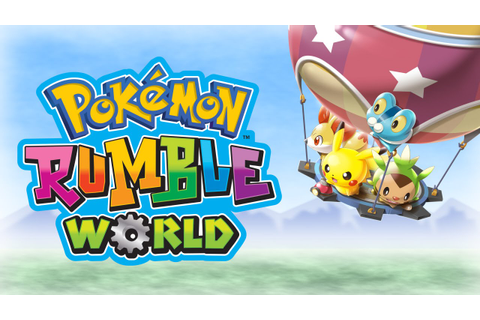 Enjoy Fast-Paced Battles in Pokémon Rumble World! - YouTube