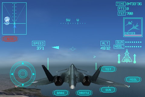Mobile Applications n Games: ACE COMBAT Xi Skies of ...