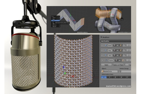Tutorial: How to create a wirenet in Blender 2.5 ...