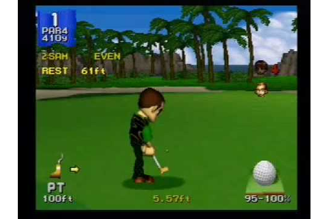 CLASSIC GAMES REVISITED - Hot Shots Golf (Sony PlayStation ...