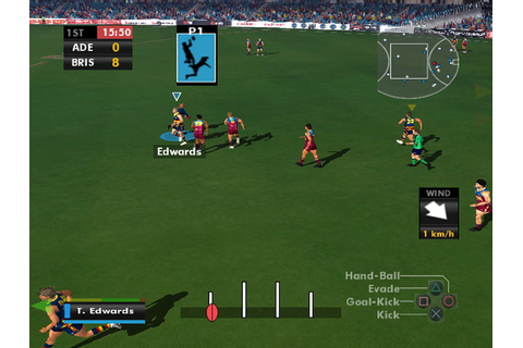 AFL Premiership 2007 Screenshots for PlayStation 2 - MobyGames