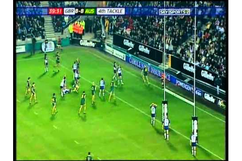 2005 Rugby League Tri Nations Game 6 - Great Britain v ...