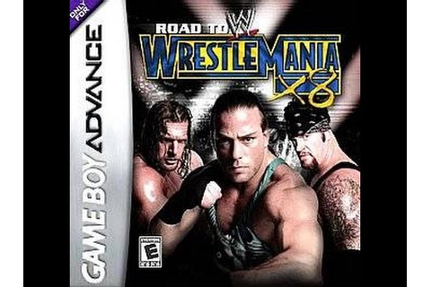 WWE Road to Wrestlemania X8 (Nintendo Game Boy Advance ...
