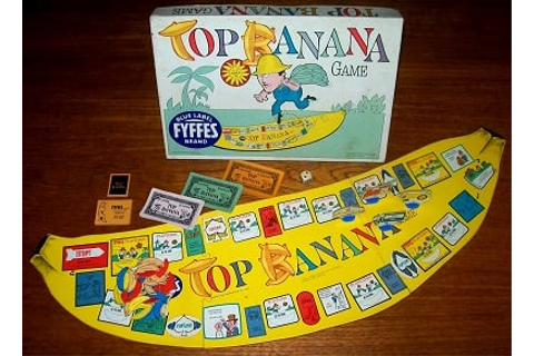 TOP BANANA GAME | Board Game by Waddingtons | Vintage ...