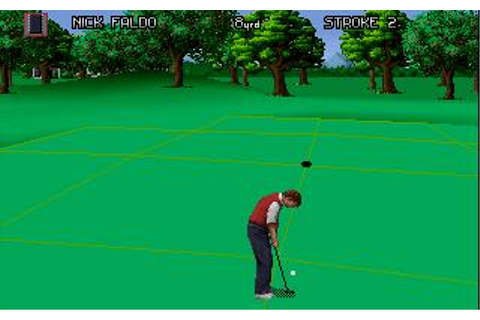 Nick Faldo's Championship Golf Download (1993 Sports Game)