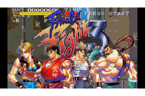 Final Fight 3 sur Super Nintendo/Snes (Review Test) FR ...