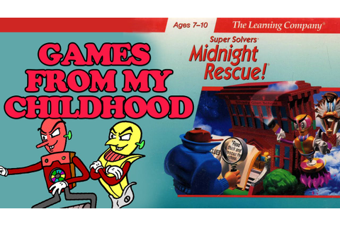 CHILDHOOD GAMES - Midnight Rescue! - YouTube