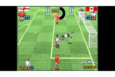Taito Power Goal (Arcade) - YouTube