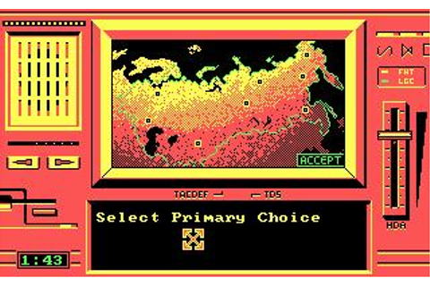S.D.I. Download (1987 Strategy Game)