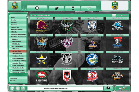 Acheter Rugby League Team Manager 2015 Jeu PC | Steam Download