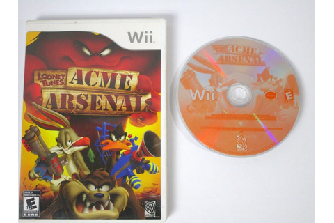 Looney Tunes Acme Arsenal game for Wii | The Game Guy