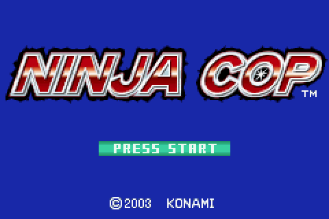 Ninja Cop (2003) by Konami GBA game