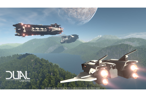 Dual Universe first gameplay footage looks impressive - VG247