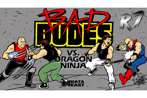 Bad Dudes Vs DragonNinja Arcade Longplay [HD 720p 60FPS ...