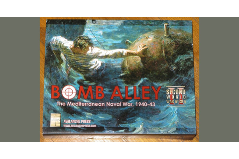 Second World War at Sea: Bomb Alley | Board Game ...