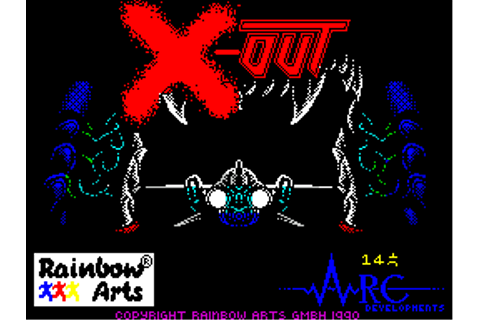X-Out Screenshots for ZX Spectrum - MobyGames