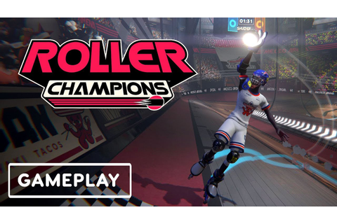 Roller Champions Full Match Gameplay - E3 2019 - YouTube