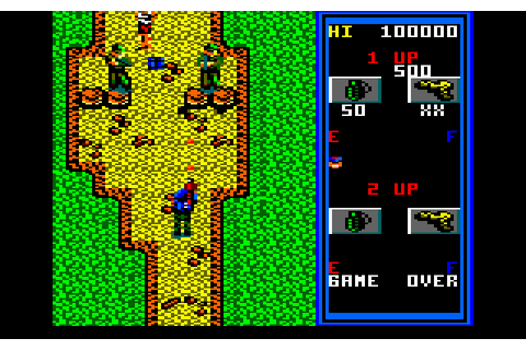 Guerrilla War (1988) by Sentient Software Amstrad CPC game
