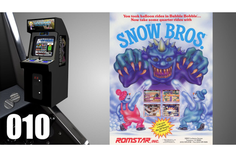 Snow Bros. 2 - With New Elves [010] Arcade Longplay ...