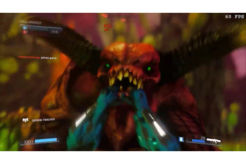 DOOM Multiplayer All glory kills to demons (incluided ...