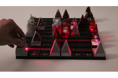 Egyptian Laser Chess: Khet 2.0. Khet is a chess-like ...