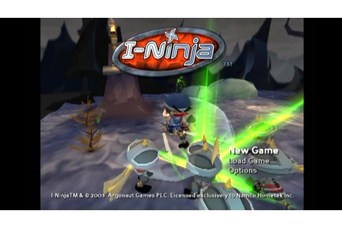 I-Ninja ... (PS2) - YouTube