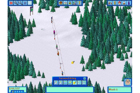 Ski Resort Tycoon Download (2000 Simulation Game)