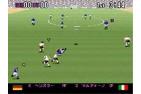 Super Formation Soccer 94 - Super Nintendo (SNES) Game
